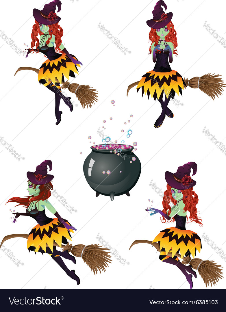 Dark Witch with Broom4