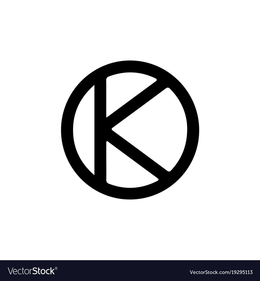 Astrology Symbol Eridas Eris 1 Royalty Free Vector Image