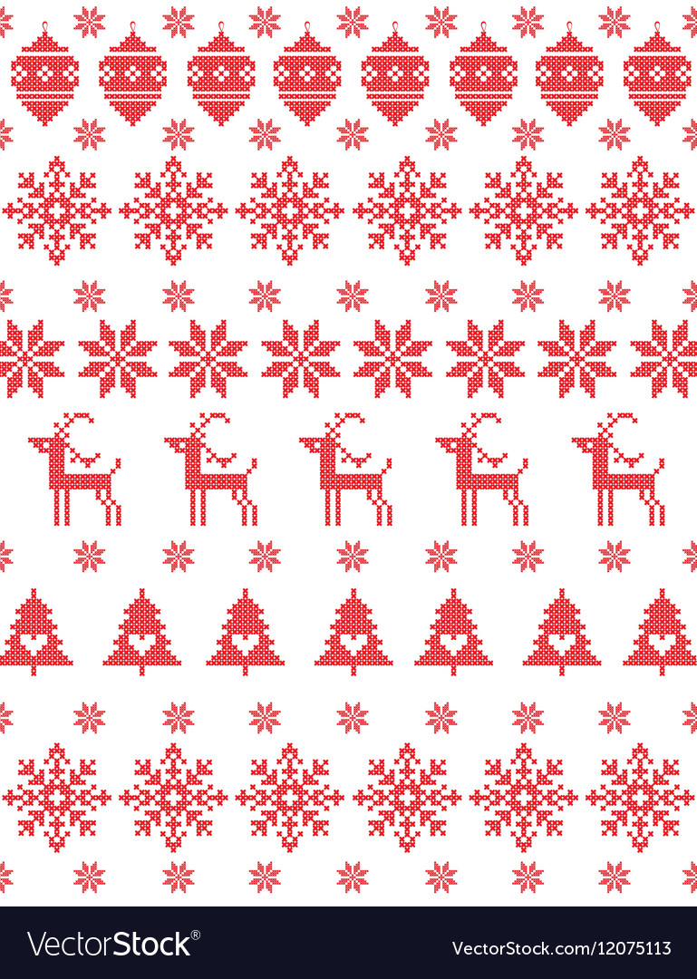 Christmas Sweater Design Royalty Free Vector Image