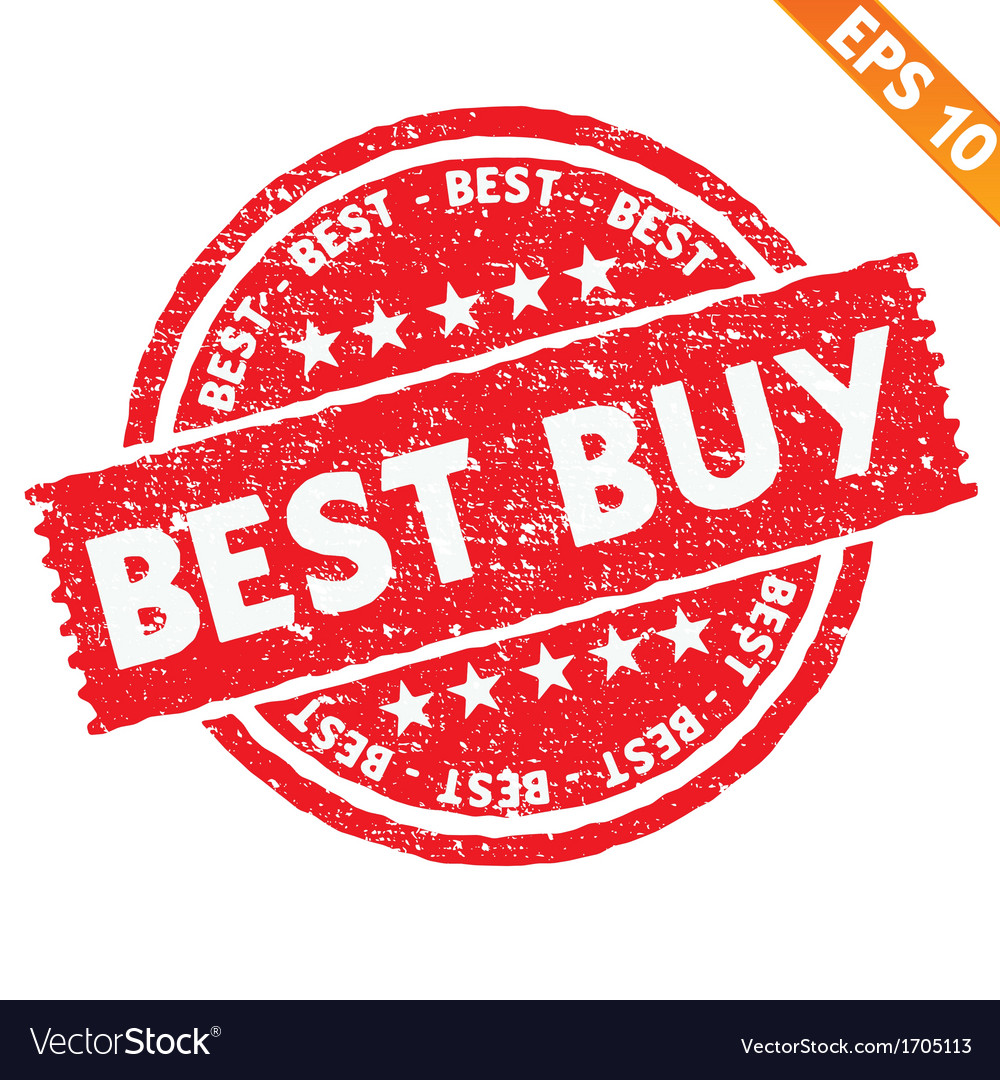 Stamp sticker best buy collection - - EPS10