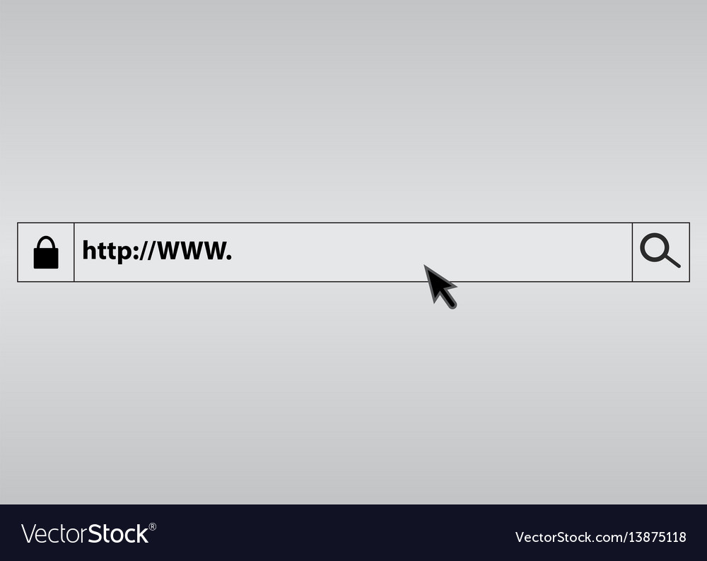 Search bar in the browser