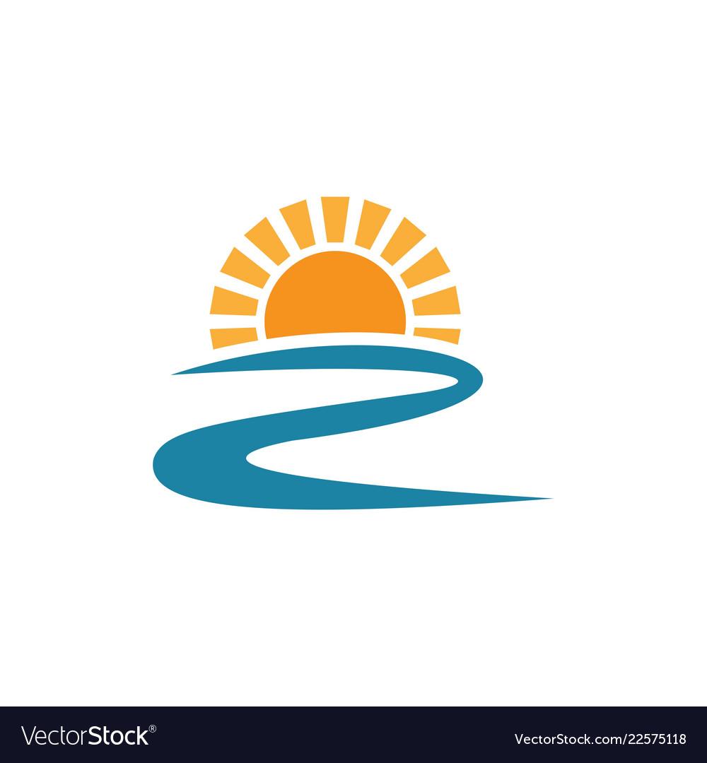 Sun river logo