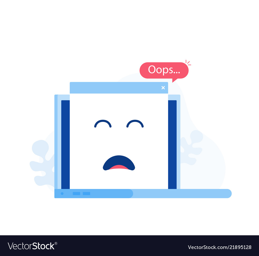 404 error page concept or file not found