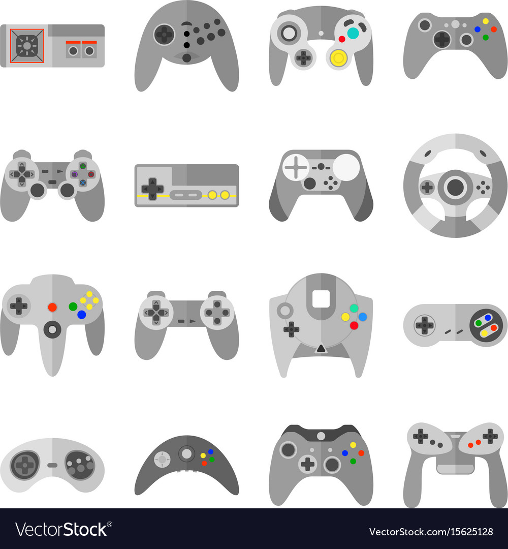 Different Game Controllers