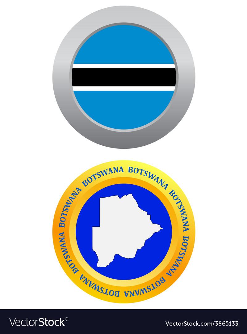 Button as a symbol BOTSWANA