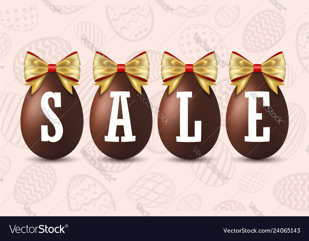 Easter egg text sale happy easter chocolate eggs