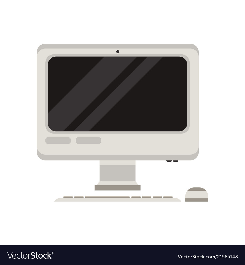 Personal computer with mouse and keyboard