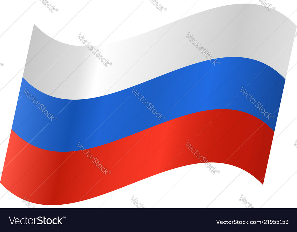Icon of a russian flag
