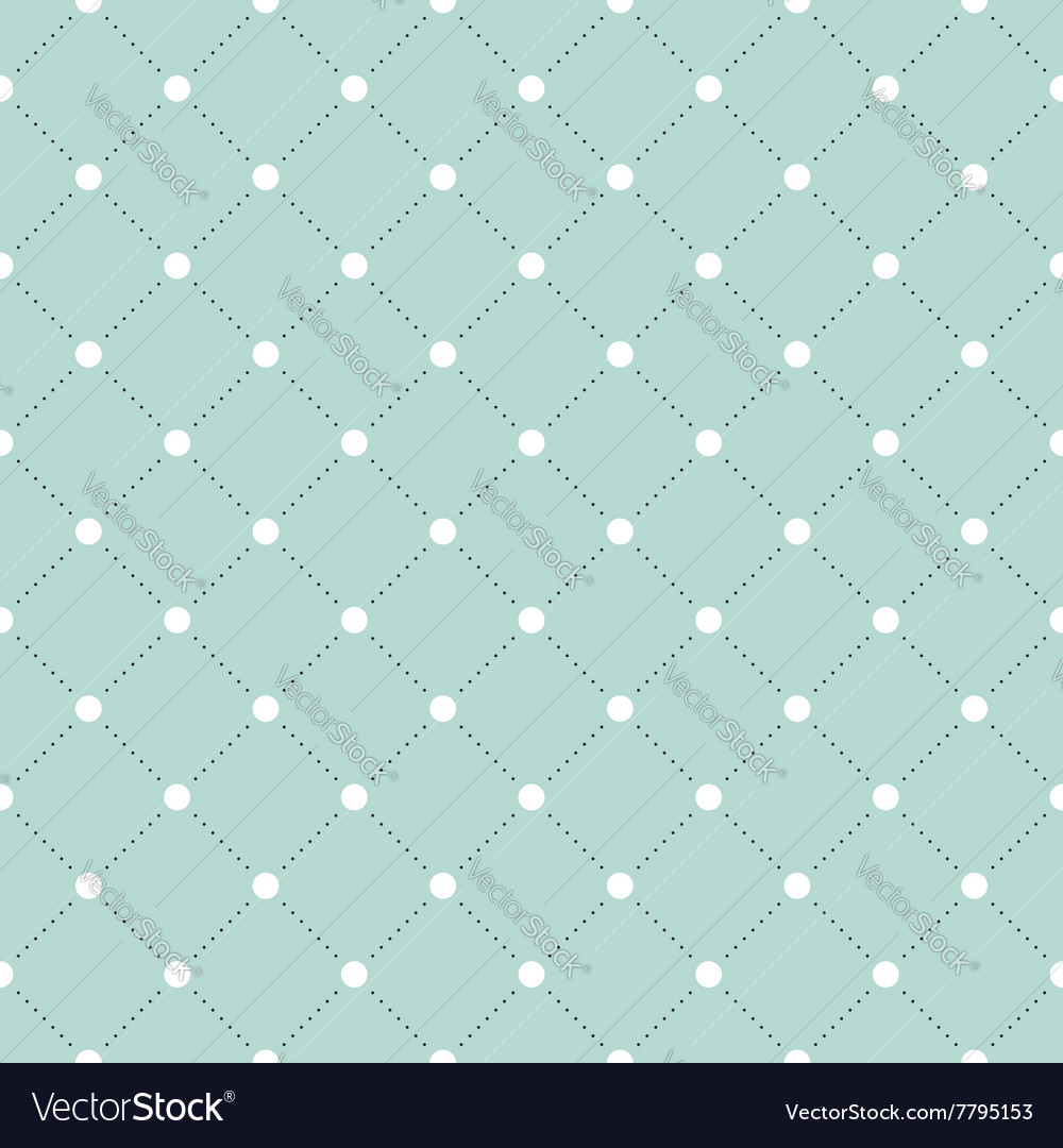 White and black veil seamless pattern on turquoise