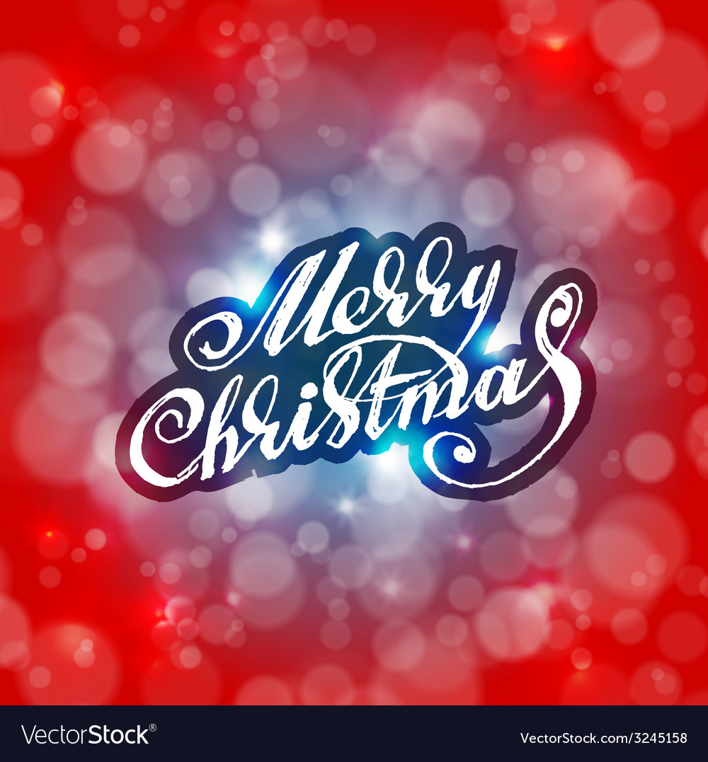 Merry Christmas Holidays card design