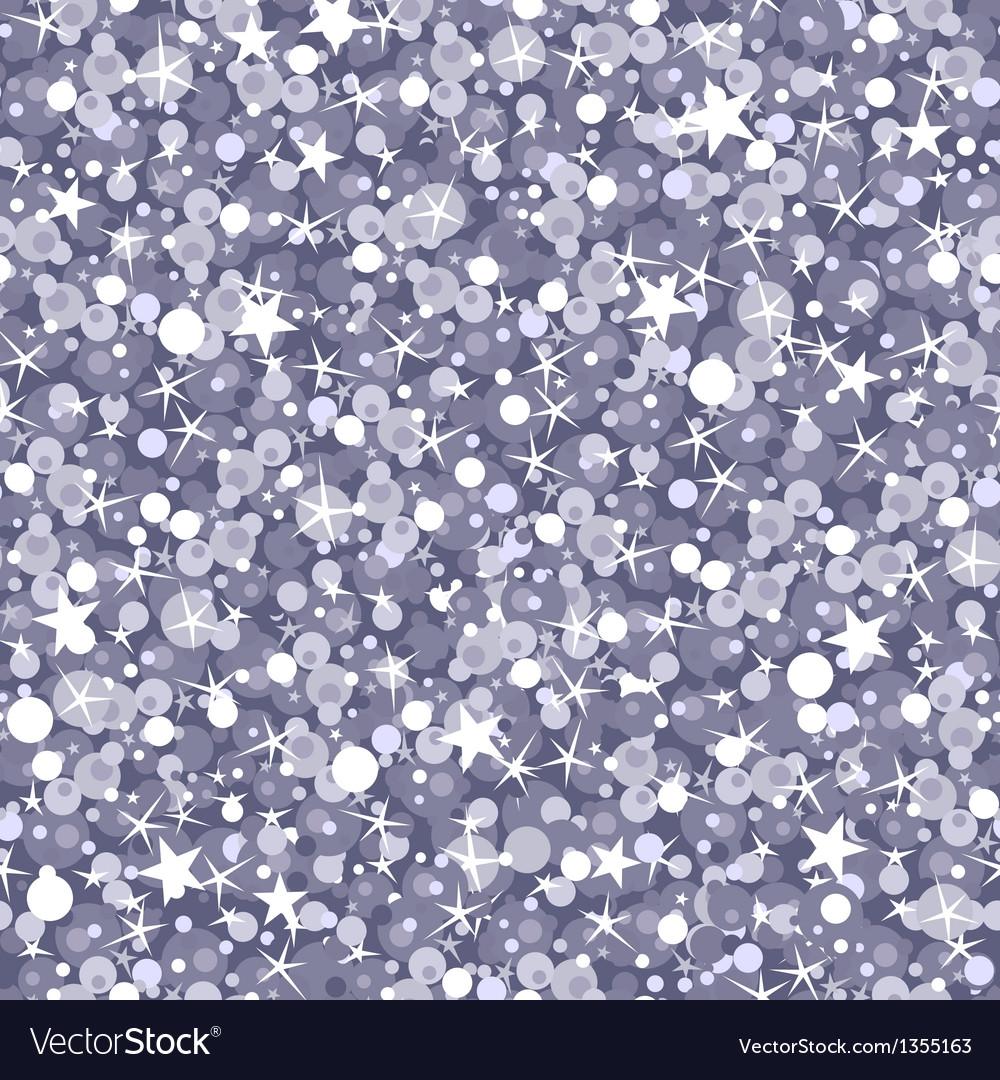 Silver sparkles seamless pattern background