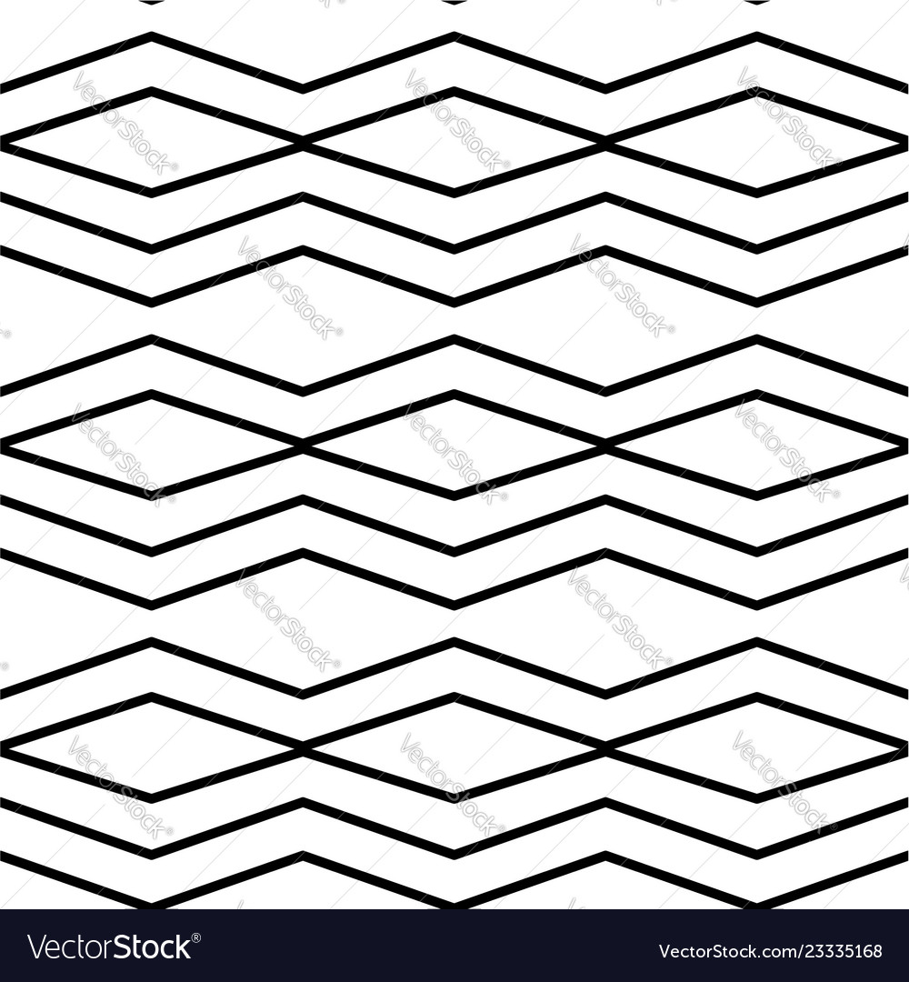 Geometric pattern in black and white style