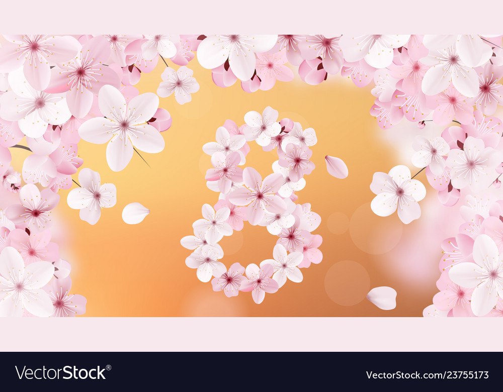 8 march international womens day background with