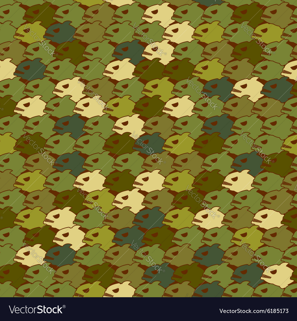 Military texture from Piranha Army seamless