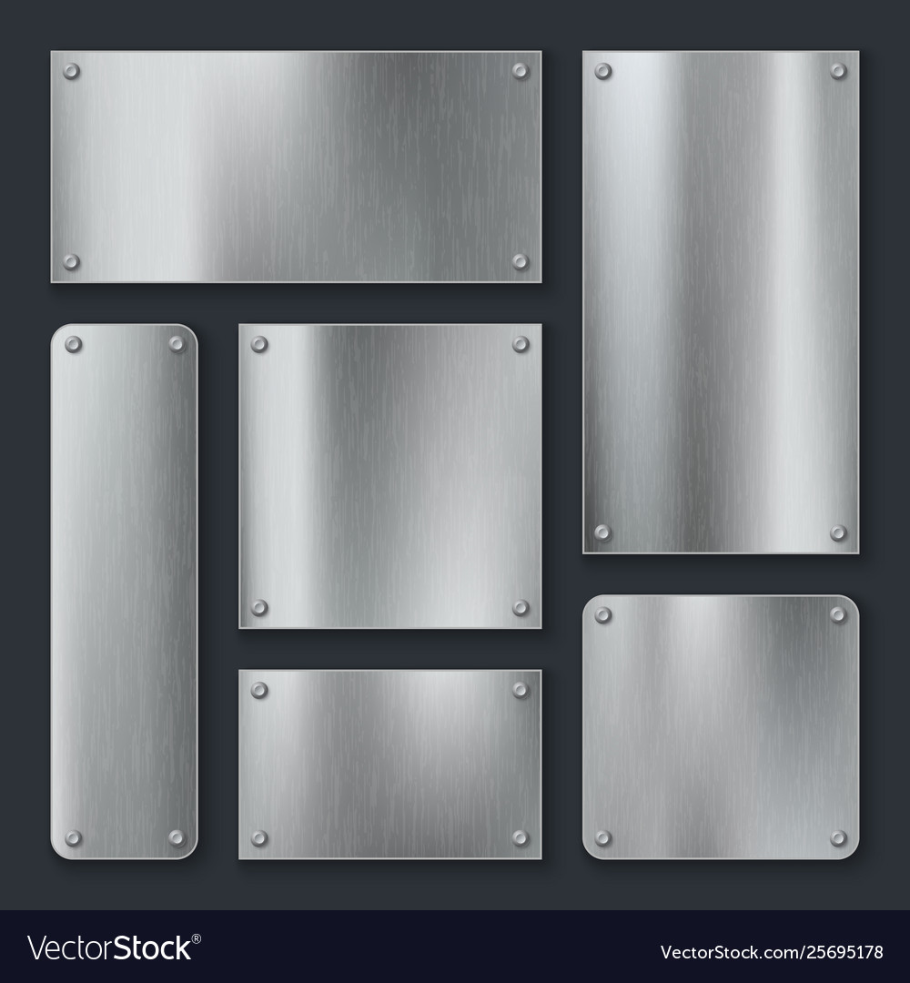 Metal plates steel plate stainless panel chrome