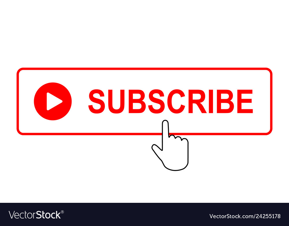 Subscribe button with mouse pointer