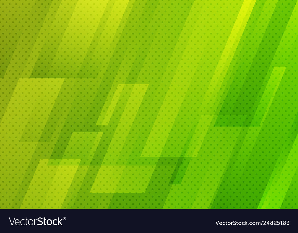 Abstract green geometric diagonal with dots