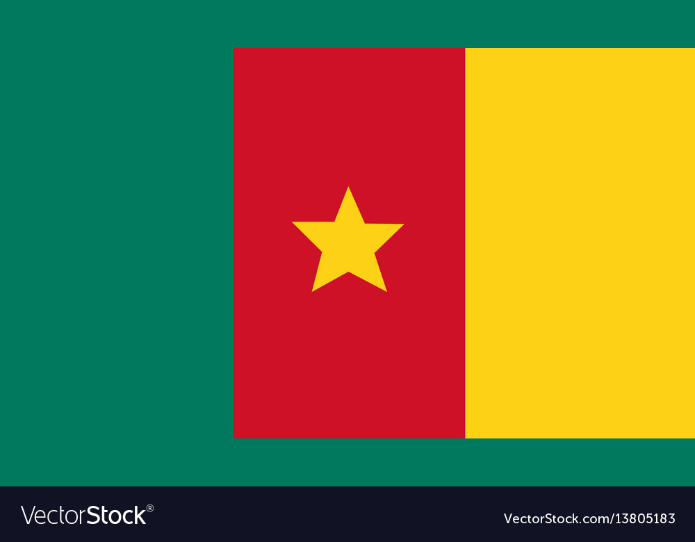 Cameroon flag for independence day and