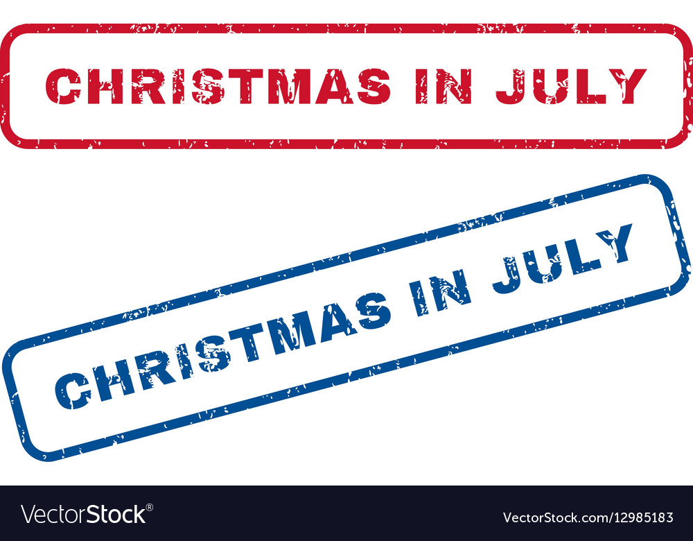 Christmas In July Royalty Free Images.Christmas In July Rubber Stamps