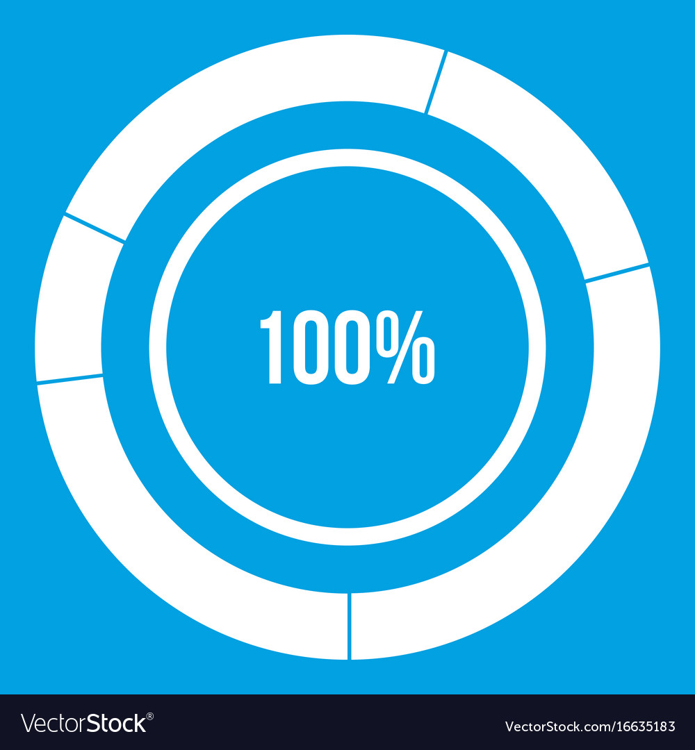 Diagram pie chart icon white royalty free vector image diagram pie chart icon white vector image ccuart Image collections