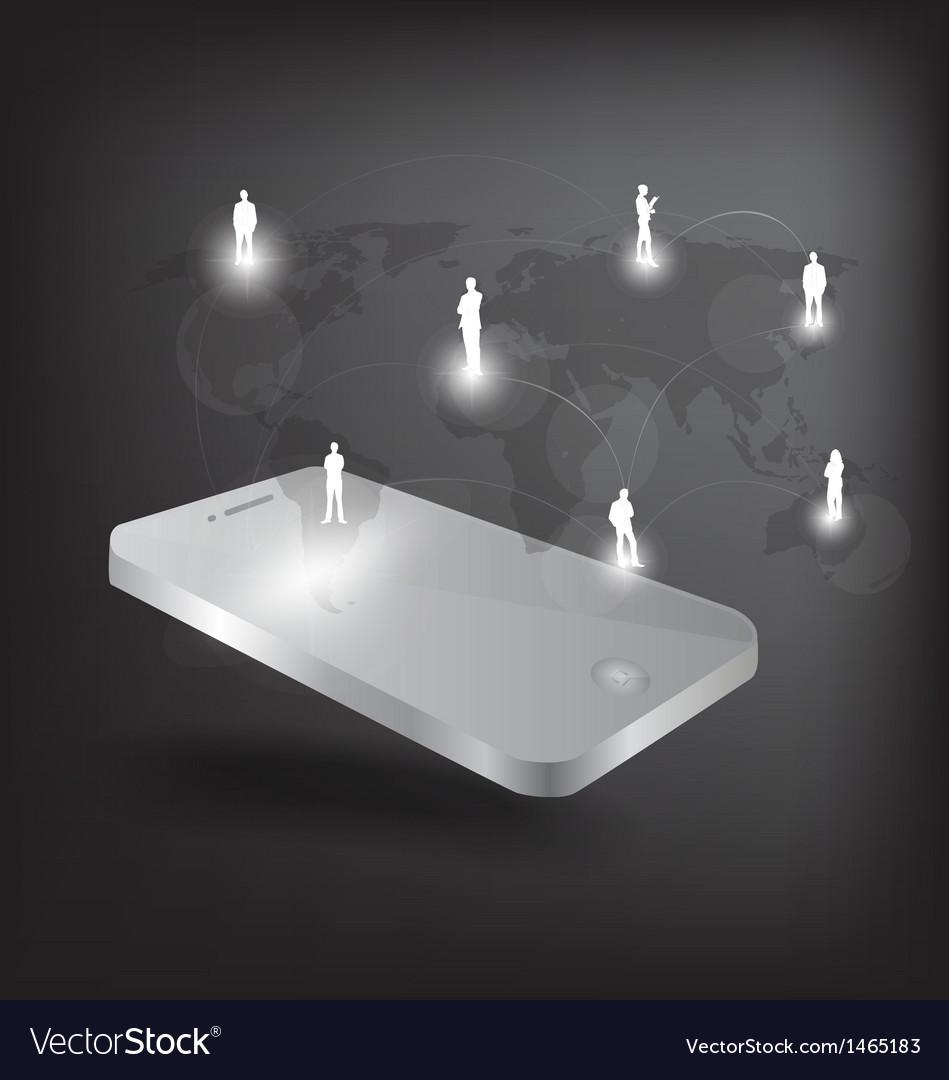 Modern phone social network