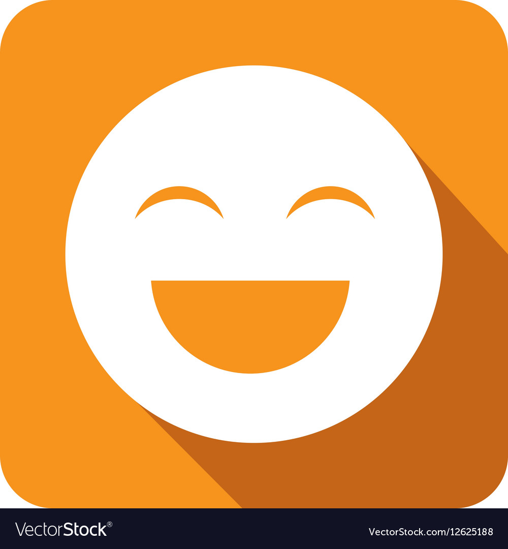 Emoticon face isolated icon vector image