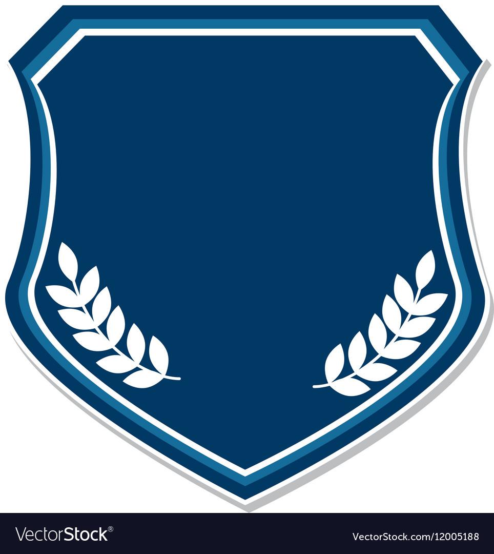 School emblem frame icon Royalty Free Vector Image