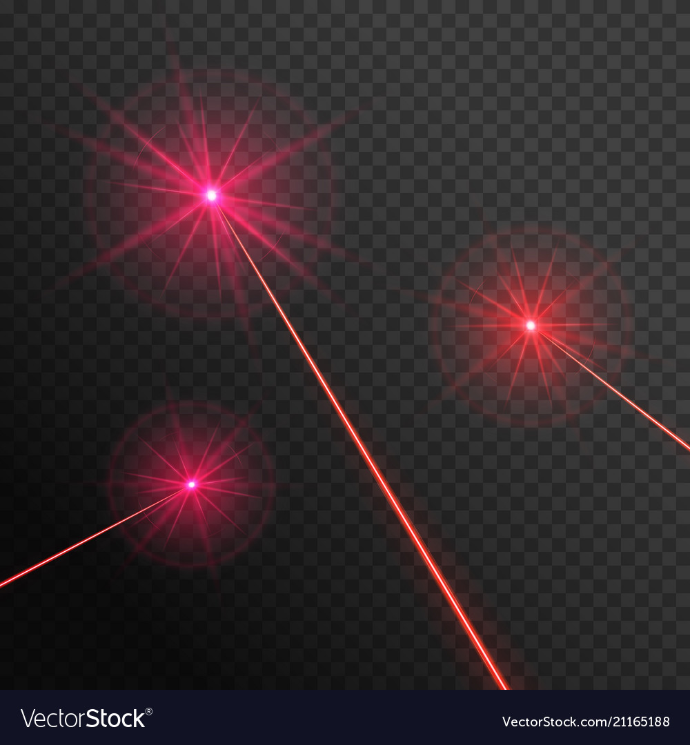 Three laser beams