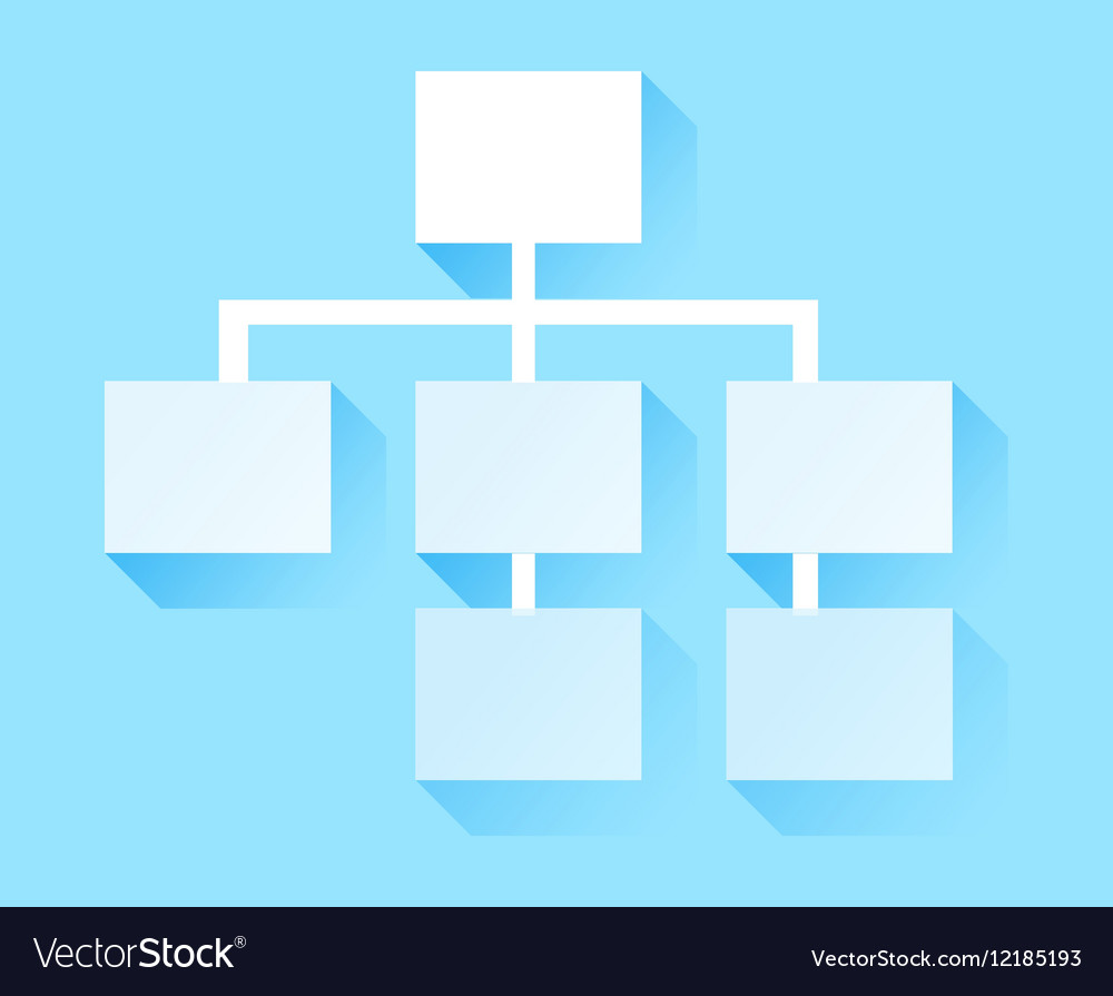 Tree Structure Icon Hierarchy