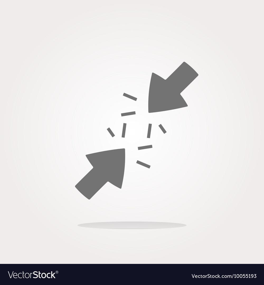 Undo Arrow Icon Redo Arrow Icon vector image