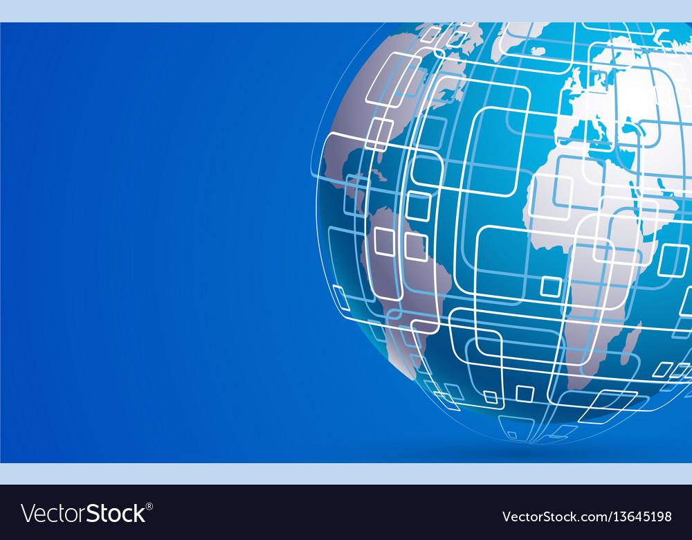 Modern techology concept background