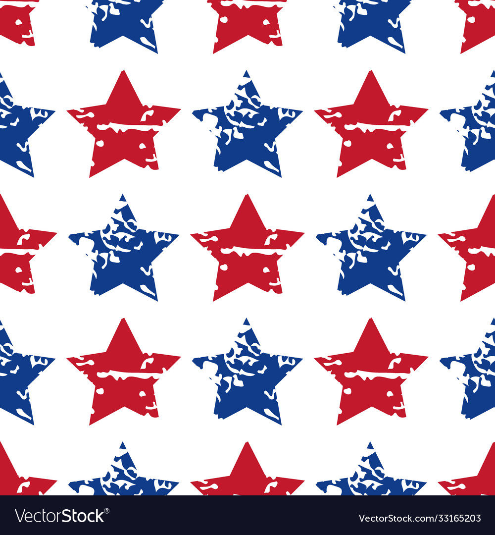 Seamless star pattern modern stylish