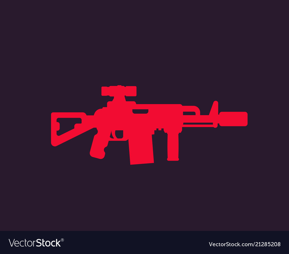 Tactical assault rifle silencer optical sight