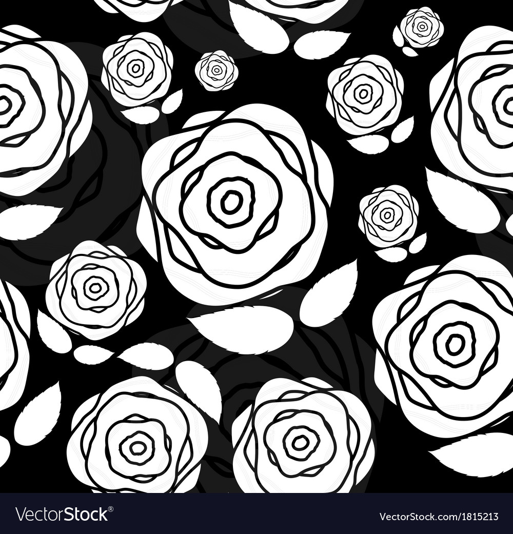 Floral Seamless Pattern Background for Wedding and