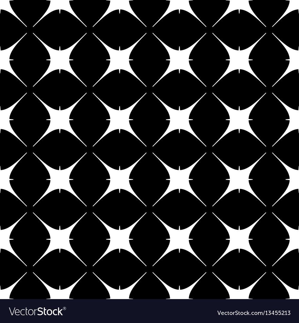 Star geometric seamless pattern 802 vector image