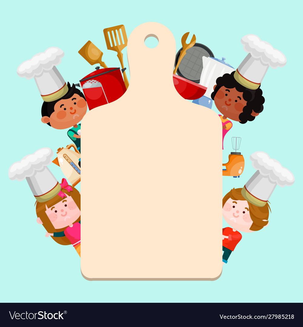 Chefs kids cooking classes template