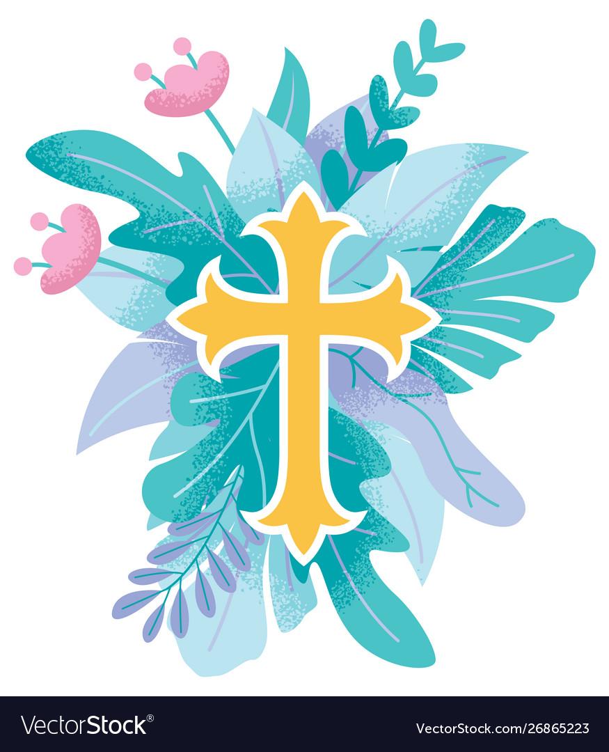 Abstract christian cross 3