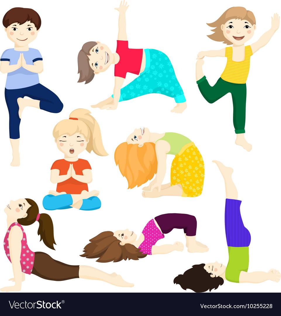 Yoga kids set 3