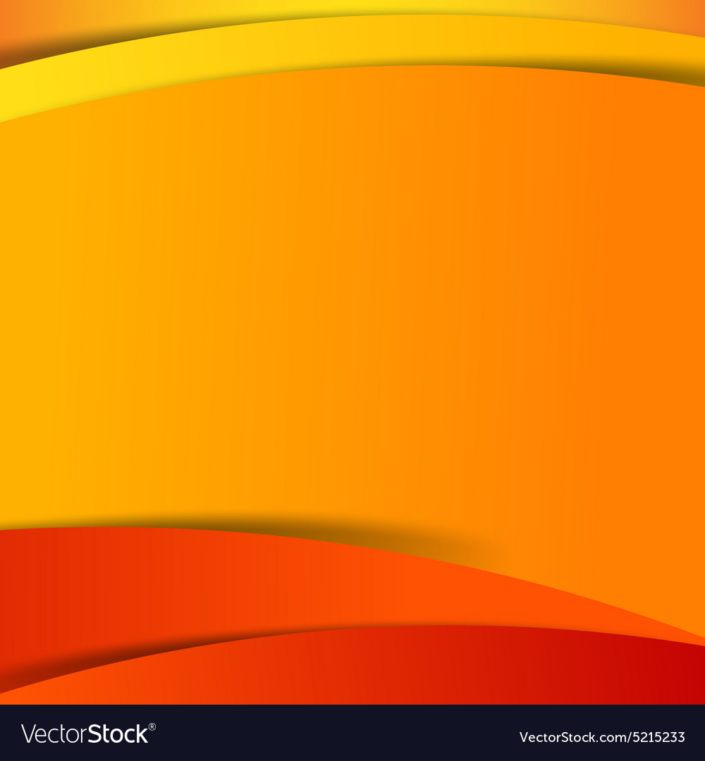 Abstract Red Orange Yellow Background Overlap