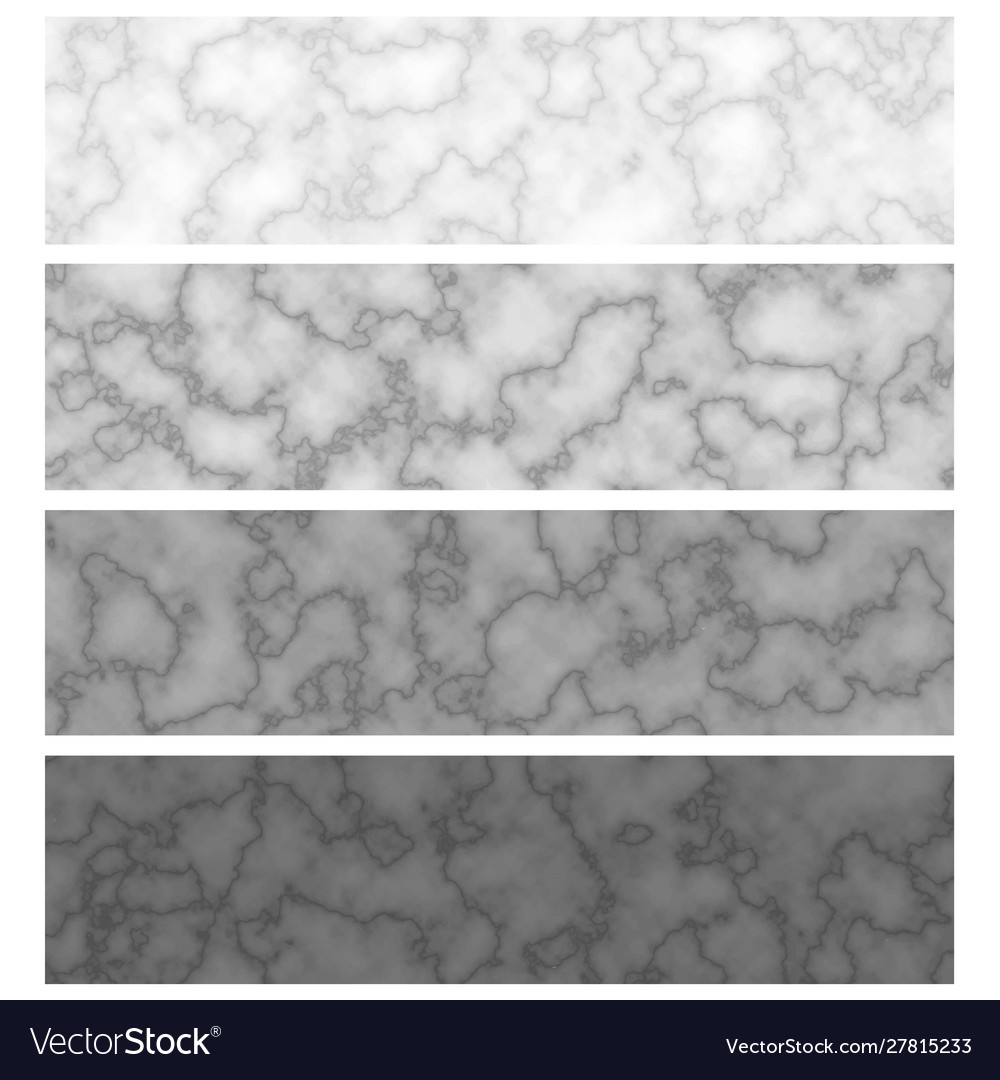 Marble texture patterns banners templates grey