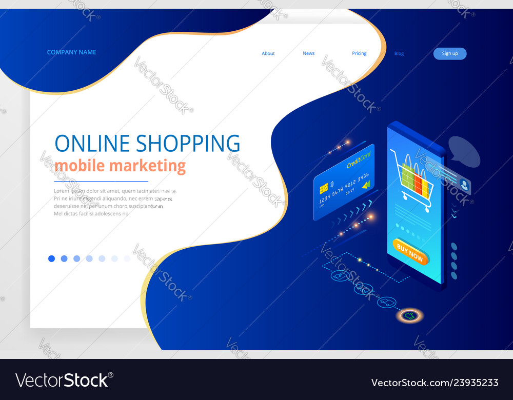 Online shopping sale consumerism and online