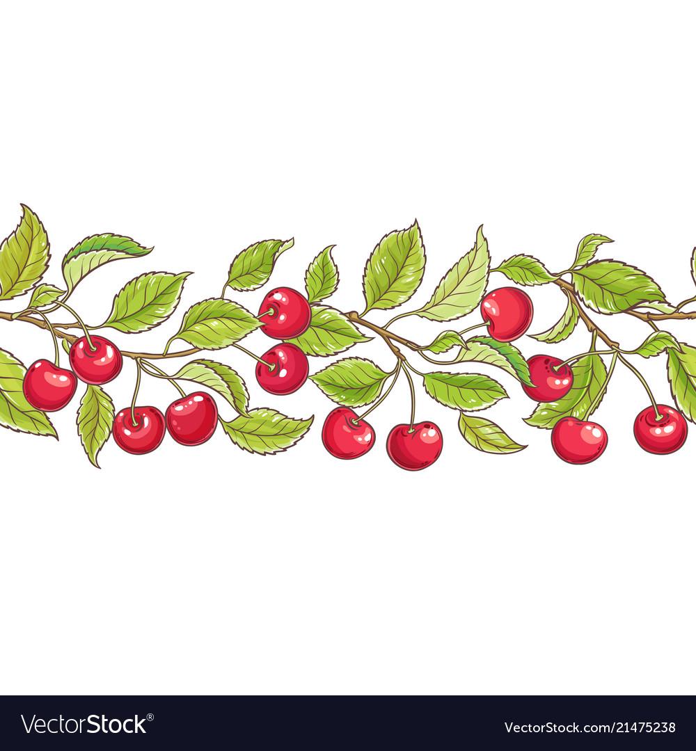 Cherry branch pattern