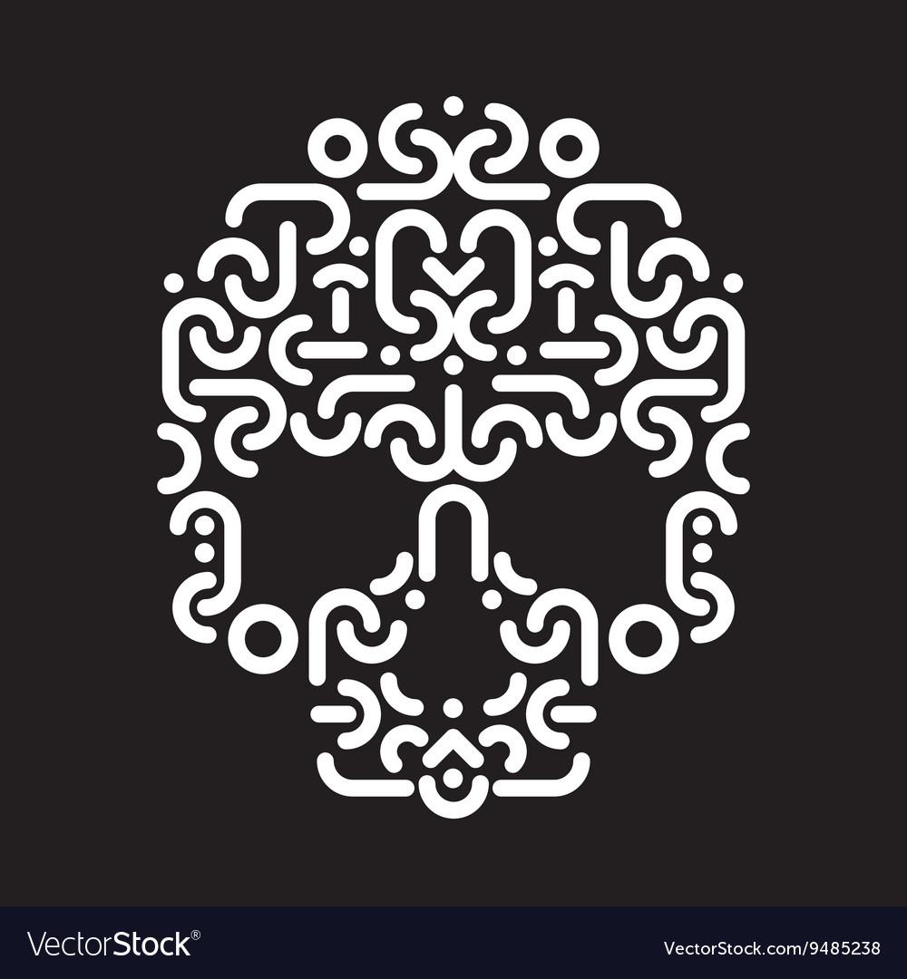 Skull design element