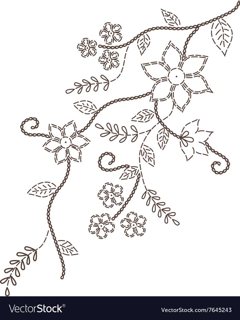 Branches design decorative romantic