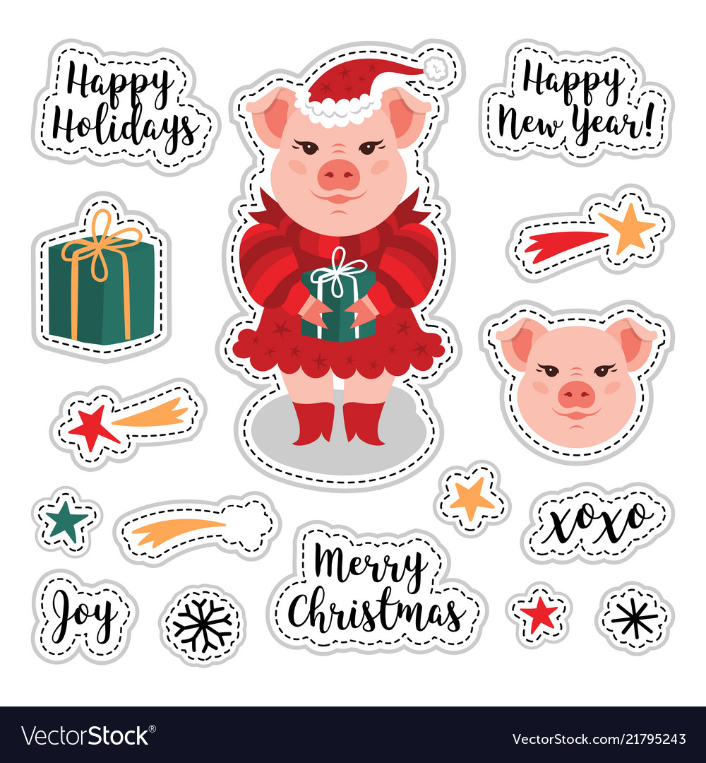 Patch set - christmas and happy new year