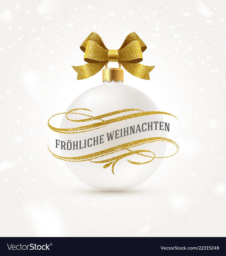 Christmas greetings in german