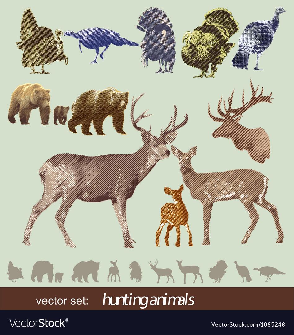 Hunting animals