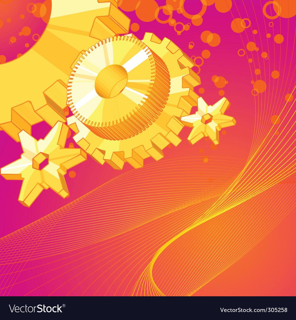 Abstract wheel vector image