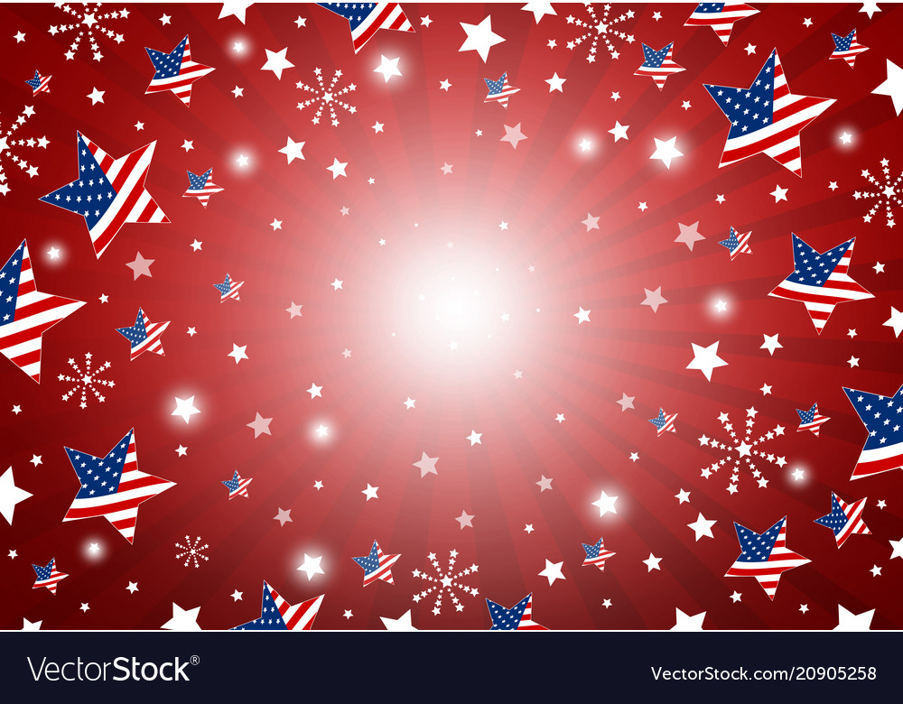 Usa background design of america flag in star and