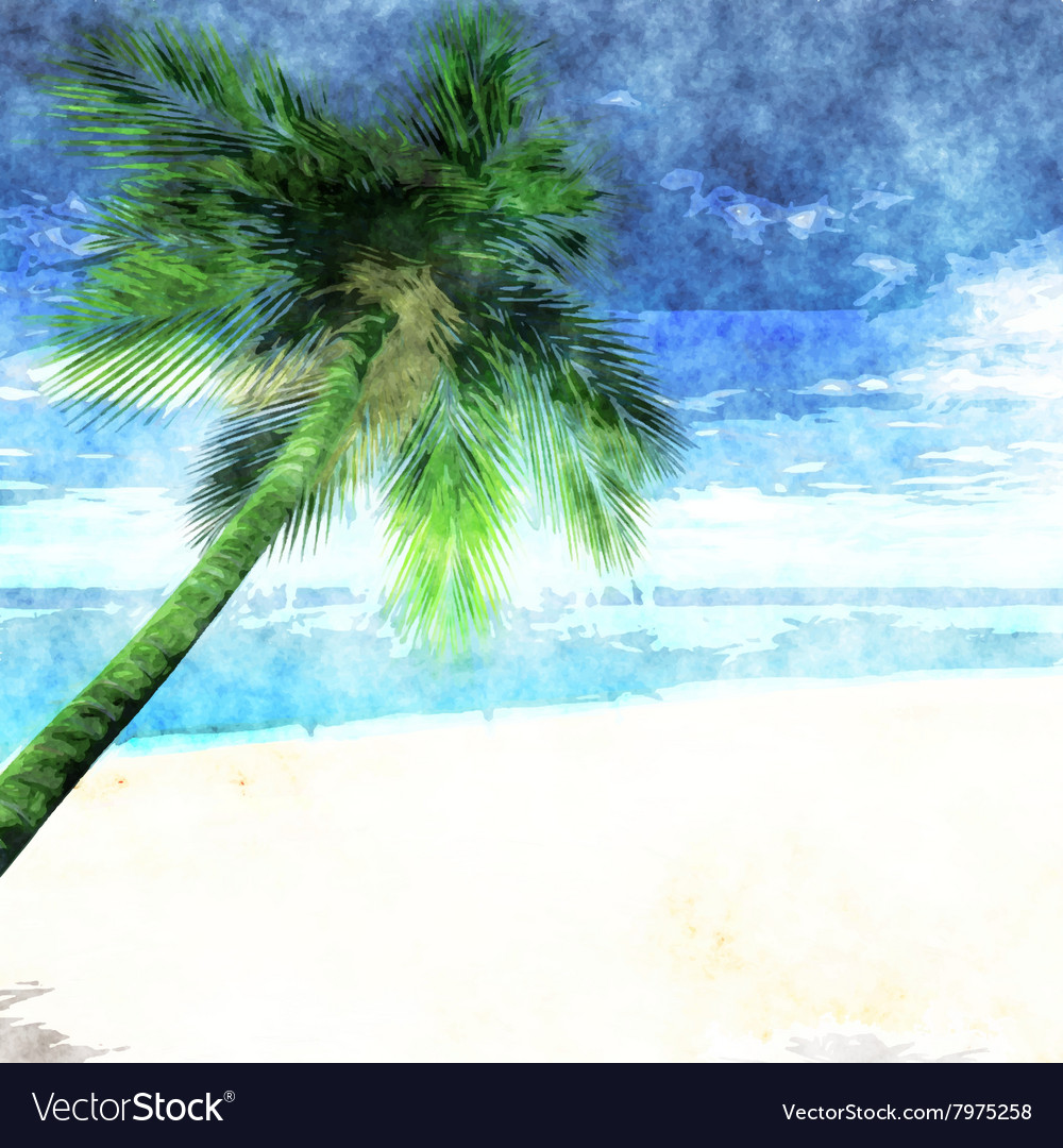 Beach 2701 Royalty Free Vector Image